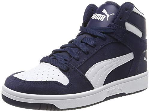 Puma Unisex-Erwachsene Rebound Layup SD Sneaker, Blau (Peacoat-Puma White), 43 EU