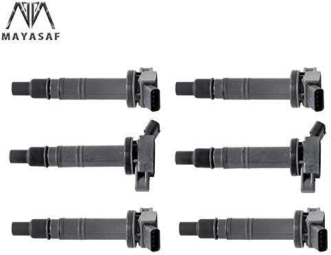 MAYASAF UF495 6 Pack Ignition Coil 03-09 4Runner Toyota 誕生日プレゼント 05 for 迅速な対応で商品をお届け致します
