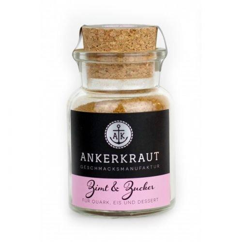 Ankerkraut Zimt & Zucker, 100g im Korkenglas