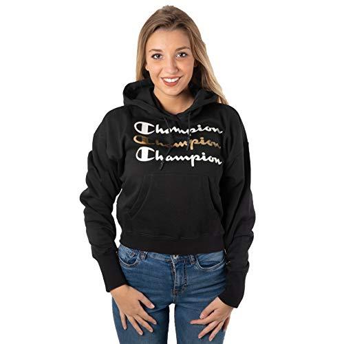 Champion Felpa Donna Art.112490 (s, kk001 Nero)