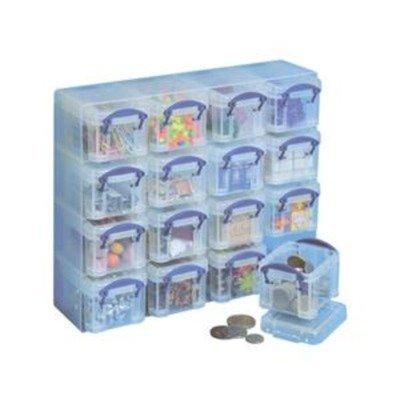 101732 - 16 x 0,14 Litre Aufbewahrungsbox Organizer Dose