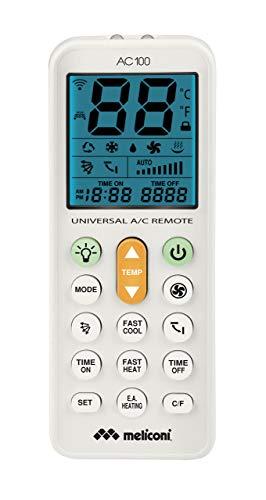 Meliconi AC 100 Telecomando Universale per Condizionatori/Climatizzatori Compatibile con la Maggior...