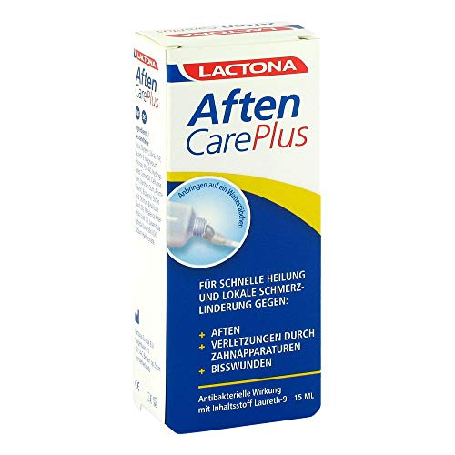 AFTEN Care Plus Aphthen Schmerzstiller Laureth9 15 ml