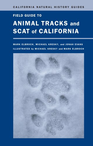 Compare Textbook Prices for Field Guide to Animal Tracks and Scat of California Volume 104 California Natural History Guides First Edition ISBN 9780520271098 by Mark Elbroch,Michael Raymond Kresky,Jonah Wy Evans
