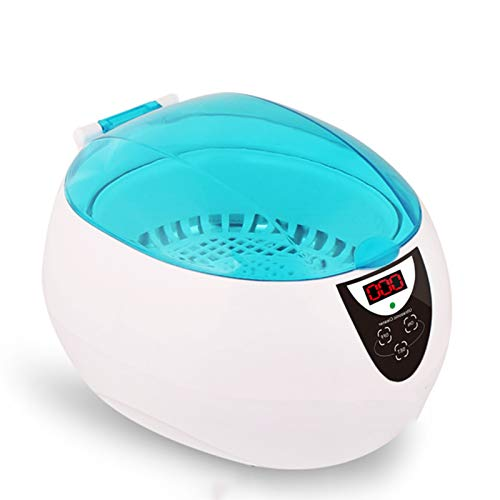 Sonic Jewellery Cleaner Automatic Glasses Cleaner, Waterproof And Splashproof with Cleaning Basket for Watch Metal Dentures