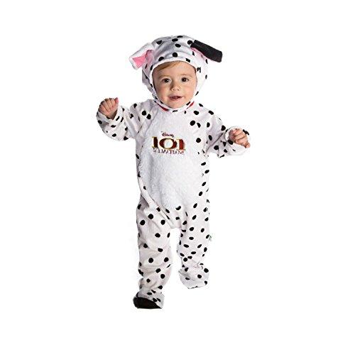 Disney Amscan - DCPAT-RPMO03 - Costume - Peluche - Dalmatian Romper - 3-6 Mois