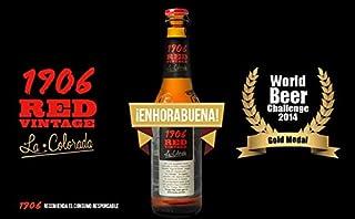 Cerveza Estrella Galicia 1906 Red Vintage-24Unidades de 33Cl