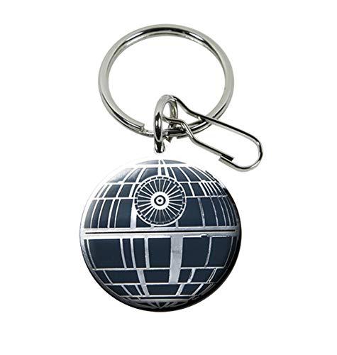 Plasticolor 004291R01 Star Wars - Llavero con estrella de la muerte