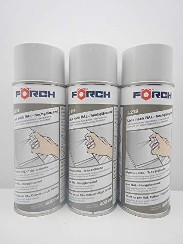 Förch LICHTGRAU GRAU RAL 7035 Lack LACKSPRAY Spray SPRAYDOSE 400ML (3)
