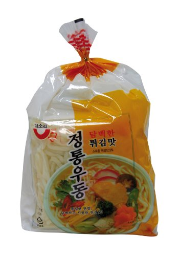 Youngwoo U-Dong Nudeln, Tofu, (Twigim) 3 Portionen, 3er Pack (3 x 705 g Packung)