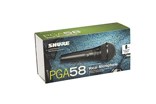 シュアー SHURE PGA58-XLR ダイナミック型マイクロホン XLRケーブル4.6m付属) ワイヤレスマイク