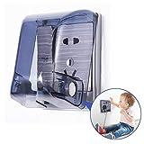 Baby Safety Outlet Cover Box, wetterfeste Single Outlet Cover Außenbuchsenschutz, Blau