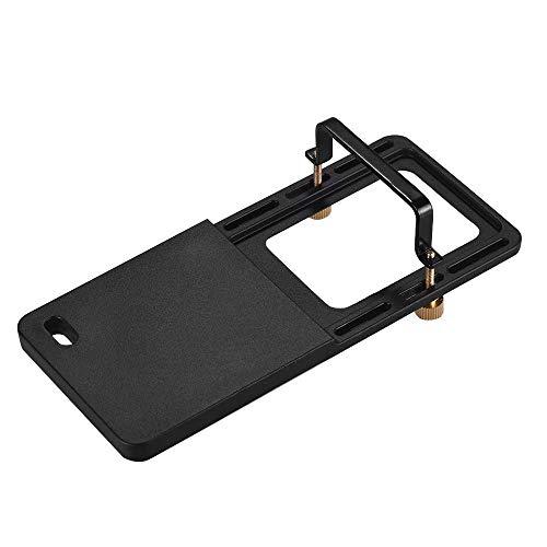 Adaptador de câmera de ação Andoer Sports Placa de suporte de fixação portátil estabilizadora de gimble para GoPro Hero 6/5/4/3+ para YI 4K SJCAM para DJI OSMO Mobile 2 Zhiyun Smooth 4 Feiyu SPG2