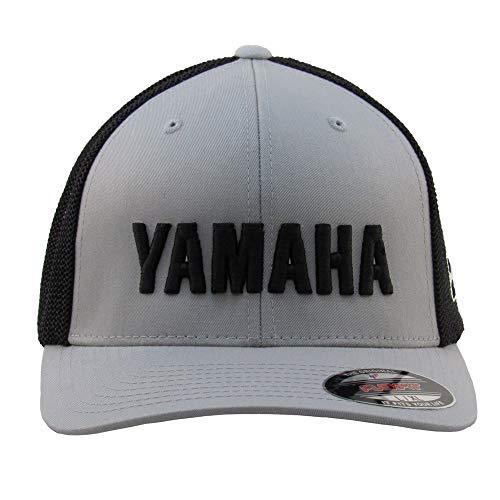 Mayhem Industries Yamaha Retro Trucker HAT (L/XL) Silver/Black