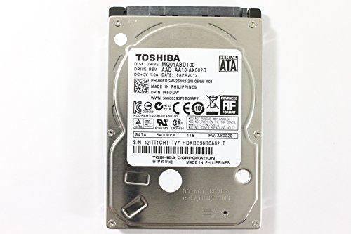 Dell 6FDGW MQ01ABD100 2.5' SATA 1000GB 5400 Toshiba Laptop Hard Drive Latitude E6420