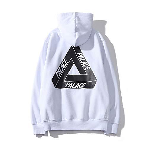 GUJUN Herren Hip Hop Skateboard Print Paare Pullover Casual Sweater Hoodie