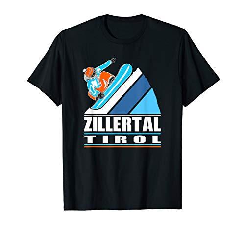 Zillertal Tirol - Apres Ski Snowboarden Snowboard T-Shirt