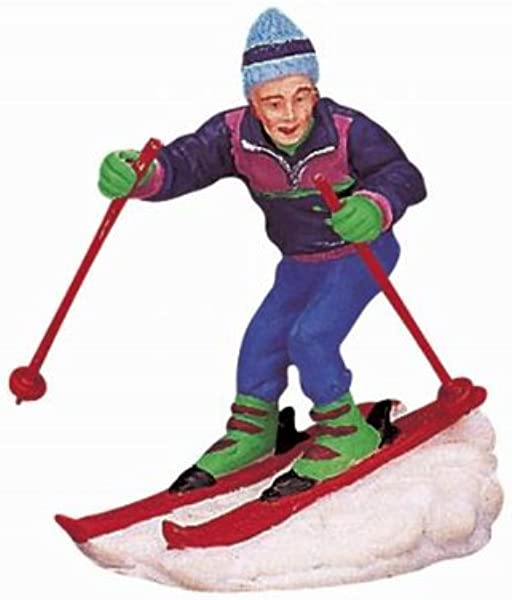 Lemax Vail Village Collection Giant Slalom Figurine 62164