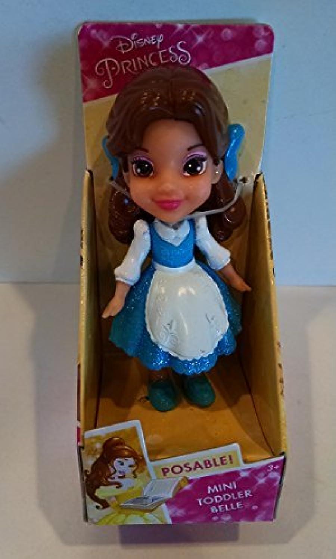 Disney My primero Princess Mini Toddler blu Dress Belle Poseable bambola by Princess