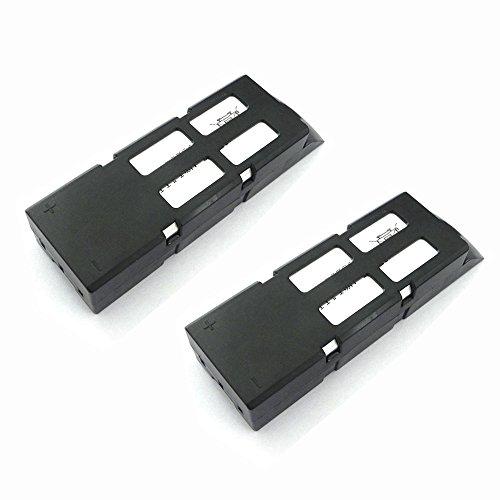TSPFJX 2PCS Battery for WL Wltoys Q303 Q303A Q303B Q303C RC Drone