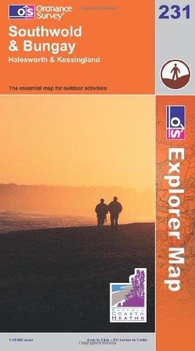 OS Explorer map 231 : Southwold & Bungay