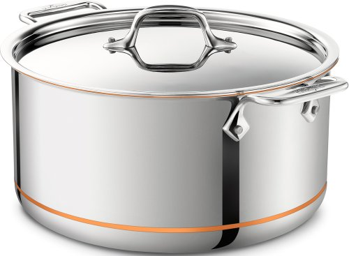 All-Clad 6508 Copper Core 5-Ply 8-quart Stockpot
