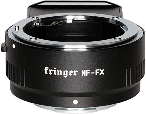 YEWOOP NF-FX Fringer Fujifilm Autofokus Mount Adapter Eingebaute elektronische Blende Automatischer Konverter für Nikon D/G/E Objektiv zu Fuji X-Pro3 X-Pro2 X-T4 X-T3 XT2 XT1 X-T200 X-T100 X-T30 Serie