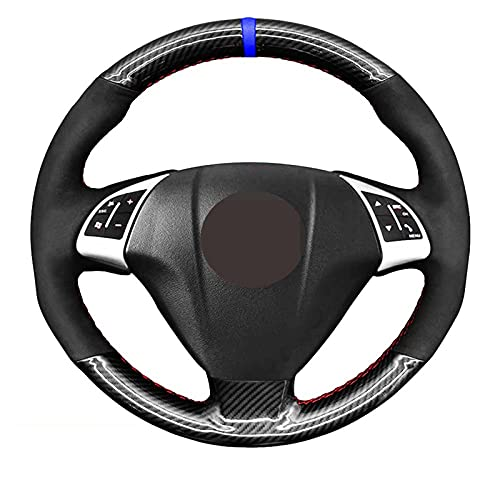 SAXTZDS Cubiertas de Volante, aptas para Fiat Grande Punto Bravo Linea 2007-2019 Qubo Doblo Opel Combo Vauxhall Combo 2012-2017