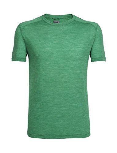 Icebreaker Herren Sphere SS Crewe T-Shirt, Cricket Hthr, S
