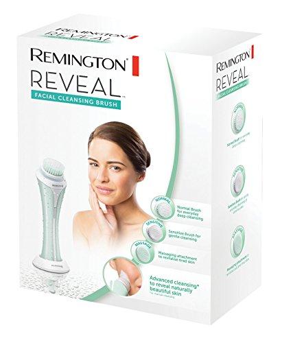 Remington Brosse Visage Electrique Nettoyante Rotative Vibrante, Etanche, Peau Normale à Sensible, Tête Massante - FC1000 Reveal