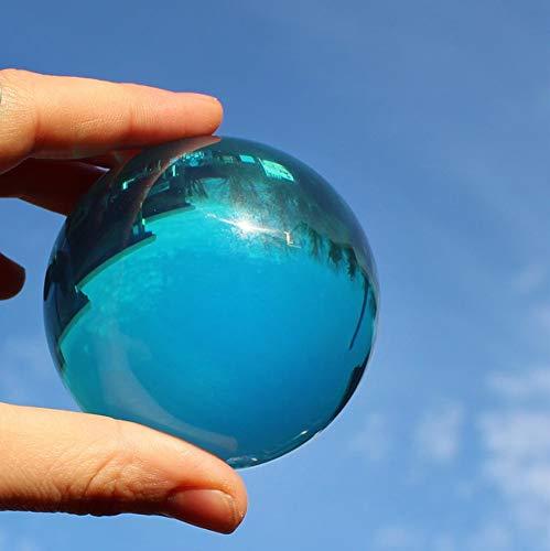 DSJUGGLING Aqua Acrylic Contact Juggling Ball - 76mm (3 Inches) -Blue