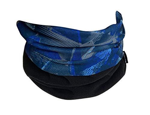 Hilltop Tour de cou multifonctions en polaire, foulard, cache-cou, disponible dans de nombreuses couleurs, couleur:Design 355-19