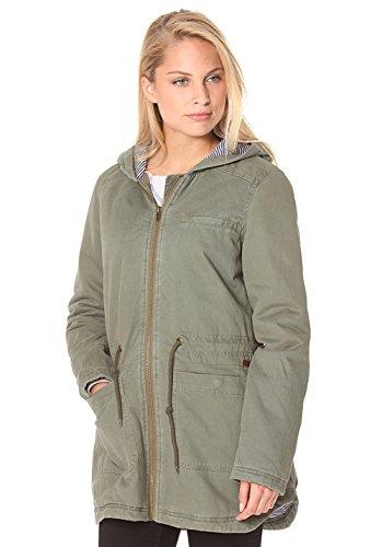 Roxy Damen Jacket Primo Parka Jacke, Dusty Olive, M
