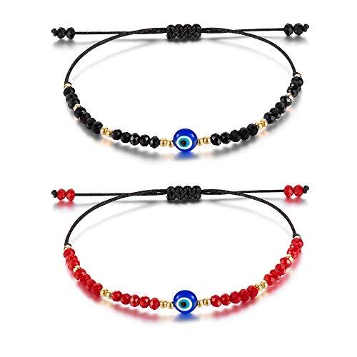 Tarsus Nazar Amulet Mal De Ojo Bracelet Blue Bad Eye Protection for Women Men Teen