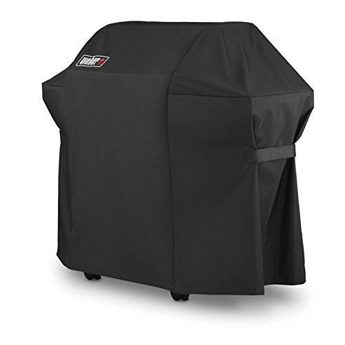 Weber Grillabdeckung mit Aufbewahrungstasche für die Spirit-220- und Spirit-300-Serien , schwarz