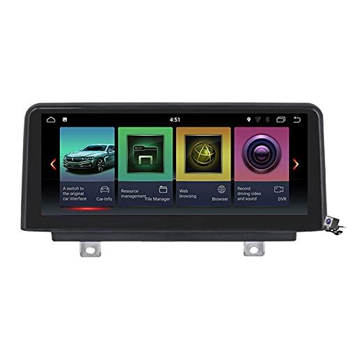 Navegación por satélite para automóvil, Android 10.0 Unidad Principal de Radio 2 DIN para BMW 1/3/4 Series 2013-2017 Navegación GPS Reproductor Multimedia MP5 de 10.25 Pulgadas Receptor de Video con