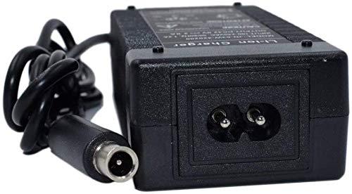 TopChargeur - Adaptador de alimentación, cargador de 42 V para patinete eléctrico...
