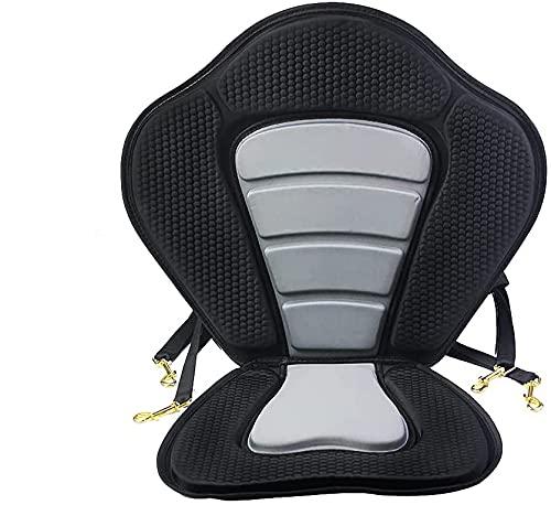 AGF Asiento de kayak para tabla de remo con correas resistentes y ganchos para asiento universal (sin bolsa)
