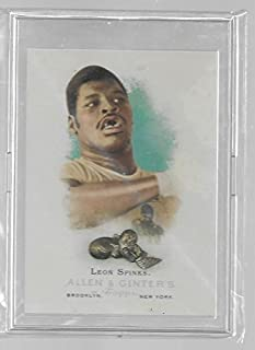Leon Spinks (Boxing) 2006 Topps Allen & Ginters Champions Trading Card #313 - Heavyweight Boxing - Stored in a Protective Plastic Display Case!!