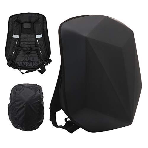 Motorcycle Backpack Hard Shell Carbon Fiber Waterproof 30L Large Capacity