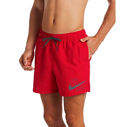 Nike 5 Volley-Shorts für Herren S Rot (University Red)
