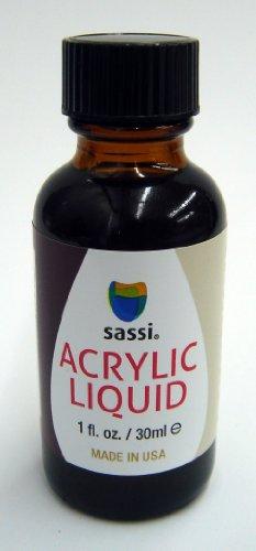Sassi Acrylic Liquid 1 Ounces