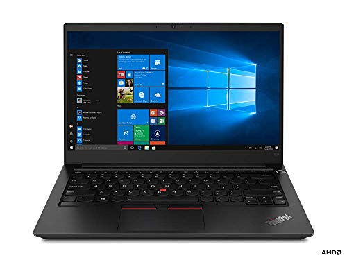 Lenovo ThinkPad E14 AMD Ryzen 5 4500U 14-inch Full HD IPS Thin and Light Laptop (8GB RAM/ 256GB SSD/ Windows 10 Home/ Microsoft Office Home & Student 2019/ Black/ 1.72 kg), 20T6S0A500