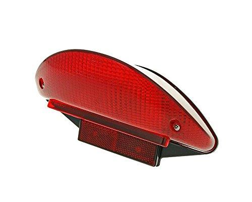 2EXTREME Rücklicht komplett mit Leuchtmittel für Yamaha Aerox, MBK Nitro