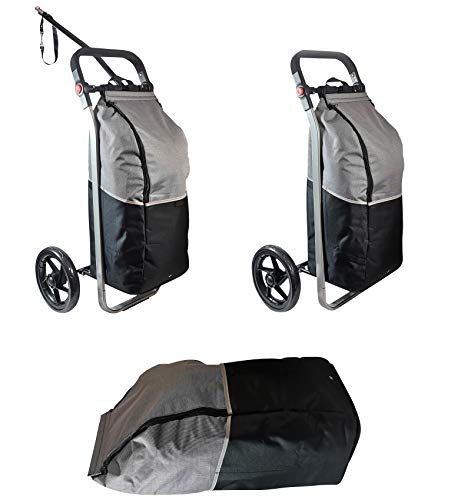 Red Loon Fahrradanhänger Lastenanhänger Trolley Einkaufsshopper Tragkraft 25kg