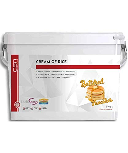CSN Supplements Cream of Rice | Complex Carbohydrate | Athlete Fuel or Recovery Meal