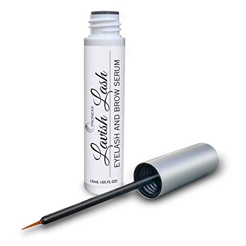 Pronexa Hairgenics Lavish Lash – Eyelash Growth Enhancer & Brow Serum with Biotin & Natural Growth...