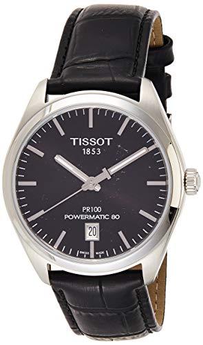 Tissot PR 100 Powermatic 80 Black Dial Men