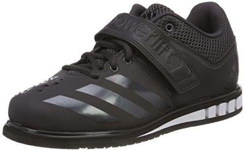 adidas Herren Powerlift.3.1 Multisport Indoor Schuhe, Schwarz (Utility Black/Core Black/Footwear White 0), 50 2/3 EU