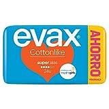 Evax Cottonlike Super Compresas Con Alas 24u